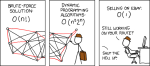 FIT ČVUT - xkcd travelling salesman problem