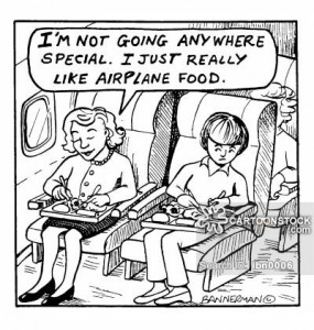 airplane, funny, airplane food